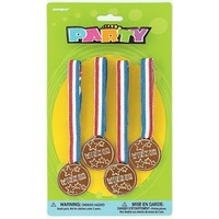 4 Gold Winner Medals