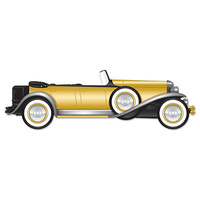 1920's Jointed Roadster Cut Out