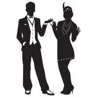 1920's Silhouette Decorations