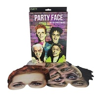 Party Face Masks - Set of 6