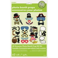 60 Photo Booth Props - Dress Ups