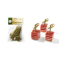 Small Bamboo Cocktail Sticks -PK 30