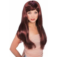 Glamour Wig - Red/Black