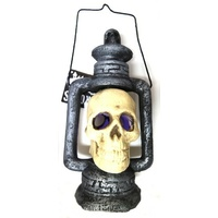 Light Up Skull Lantern*
