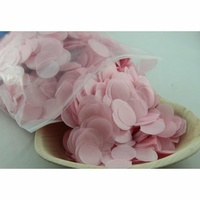 Tissue Confetti (2.3cm) - Light Pink - 250g