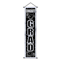 Congrats Grad Velvet-Lame Door Panel*