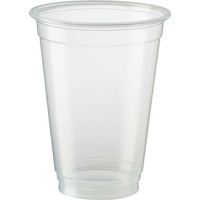 Eco Friendly Clear Plastic Cups 285 ml - 50 Pack