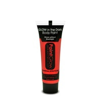 Red Glow in the Dark Face & Body Paint - 13ml
