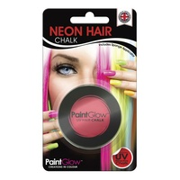 Neon Red UV Hair Chalk - 3.5g