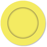 Light Yellow Paper Lunch Plates - Pk 8