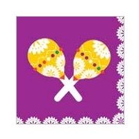 Fiesta Party Lunch Napkin - Pk 20