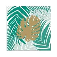 Tropical Lunch Napkin - Pk 10