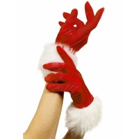 Santa Gloves with fur