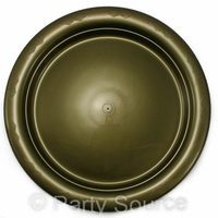 Gold Lunch Plate 180mm Pkt 25