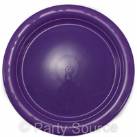 Purple Lunch Plate 180mm Pkt 25