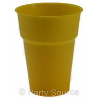 Yellow Cup 285ml Pkt 25