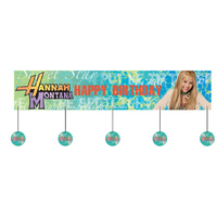 Hanna Montana Banner - Pack Of 1