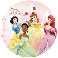 Princess 2 Plates - Pack Of 8