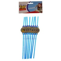 Toy Story Straws - Pack Of 12