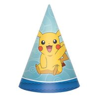 Pokemon Cone Hats - Pk 8