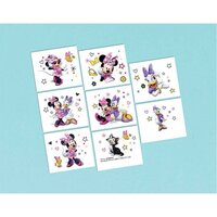 Minnie Mouse Happy Helpers Tattoos - Pk 8