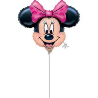 Small Minnie Mouse Shape Balloon