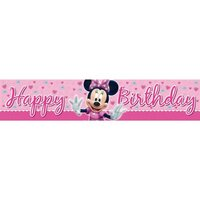 Minnie Mouse Bow-tique party banner