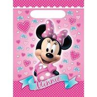 Minnie Mouse Loot Bags - Pk 8