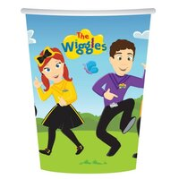 The Wiggles 266ml Cups - Pk 8