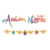 Arabian Nights Streamer Set