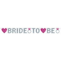 Bride To Be Glitter Banner - 3.65m