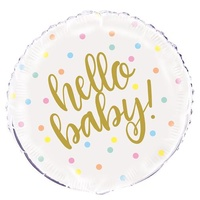 """hello baby"" 18"" Foil Balloon"