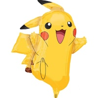 Pikachu Supershape Balloon - 62cm x 78cm