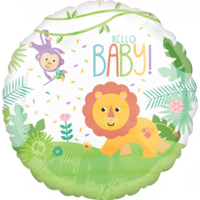 Fisher Price Hello Baby Foil Balloon (43cm)