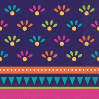 Boho Fiesta Lunch Napkins - Pk 20