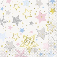 Twinkle Star Lunch Napkins - Pk 16