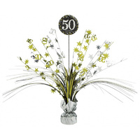 50th - Sparkling Celebration Table Centerpiece