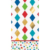 Party Diamond Napkins - Pk 16