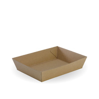 Bioboard Medium Food Tray 3 - Pk 125
