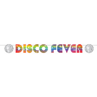 70's Disco Fever Streamer