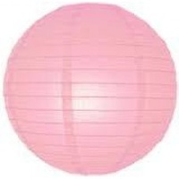 40cm Light Pink Paper Lantern