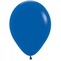 "5"" Fashion Royal Blue Latex Balloons - Pk 100"