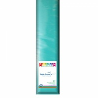 Teal Tablecover Roll 30M