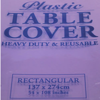 Purple Rectangle Tablecloth