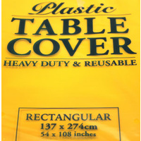 Yellow Rectangle Tablecover