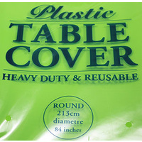 Lime Round Tablecover