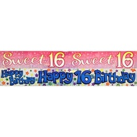 Banner 2.6M Happy 16Th