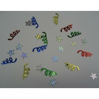 Scatters - Mixed Stars & Streamers (14g)