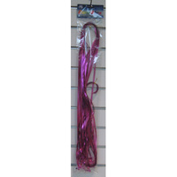 Pink Metallic Cut&Clip Ribbons 1.75m