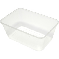 1000ml Takeaway Containers with Lids